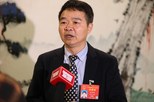 全国人大代表、宜兴白塔村党总支书记欧阳华