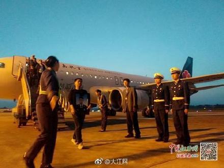 凉山扑火英雄古剑辉烈士骨灰到达赣州 当地明日举行纪念活动