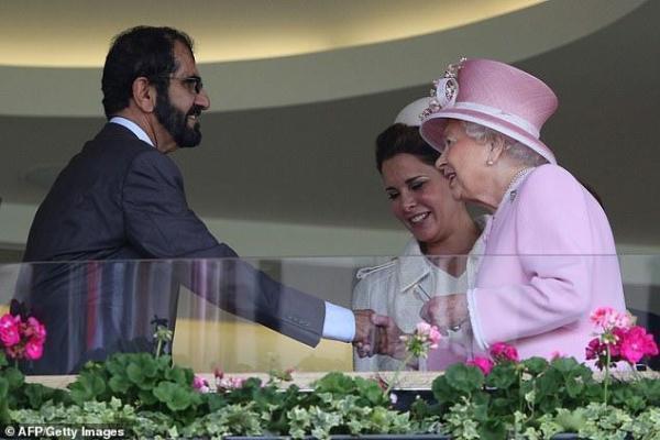 哈俗王妃出追起因首流露 与迪拜酋长仳离官司冗长